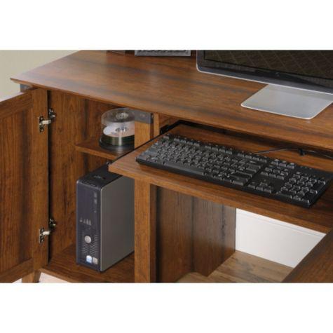 66 Quot W Carson Forge Corner Computer Desk By Sauder