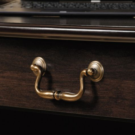 Close up of drawer pull