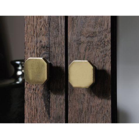 Close up of door hardware