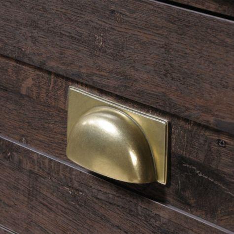 Close up of drawer pulls