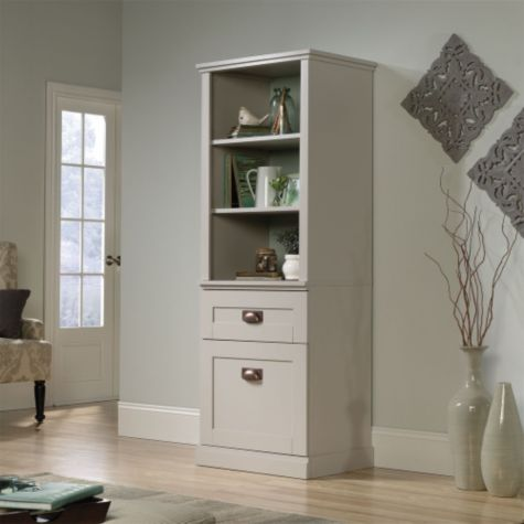 Shown with cabinet closed
