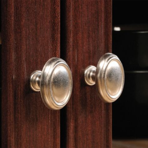 Close up of cabinet pulls