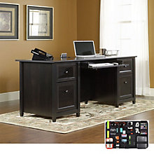 Edge Water Executive Desk with Grid-It Desk Organizer, 8804561