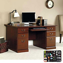 Heritage Hill Computer Desk with Grid-It Desk Organizer, 8804567