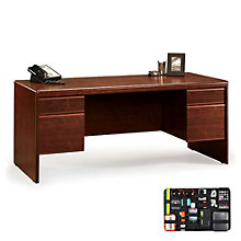 Cornerstone Executive Desk with Grid-It Desk Organizer, 8804575