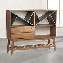 """Soft Modern Storage Cabinet - 47.5""""H, 8804581"""