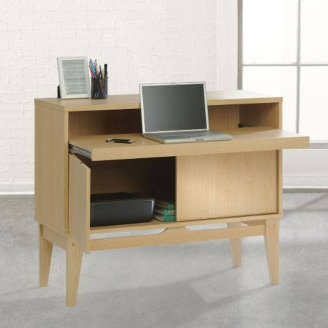 Convenient pull-out worksurface