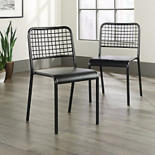 Boulevard Café Metal Chairs (Set of 2), 8827705