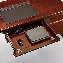Cornerstone Laptop Drawer with Power Strip, SAU-404943