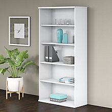Bush Business Furniture Studio C 5 Shelf Bookcase, 8825641
