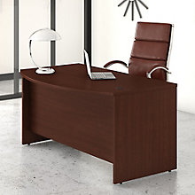 Bush Business Furniture Studio C 60W x 36D Bow Front Desk, 8825642