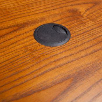 48 Quot W Justine Single Drawer Corner Desk Officefurniture Com