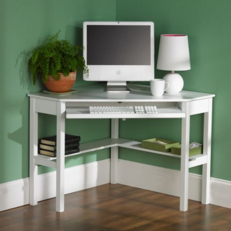 White Shown in a Home Office