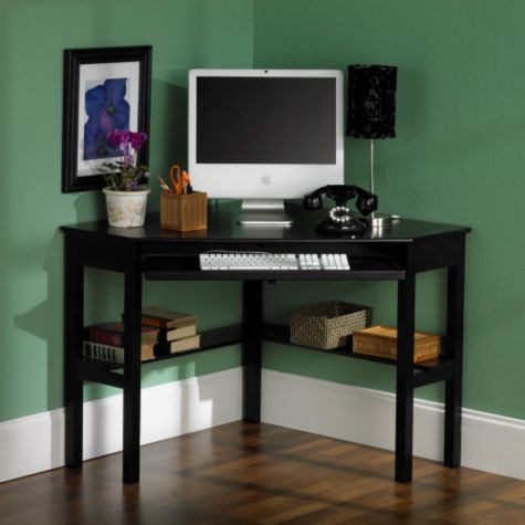 Black Shown in a Home Office
