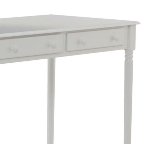 Close Up of Drawer Fronts in White