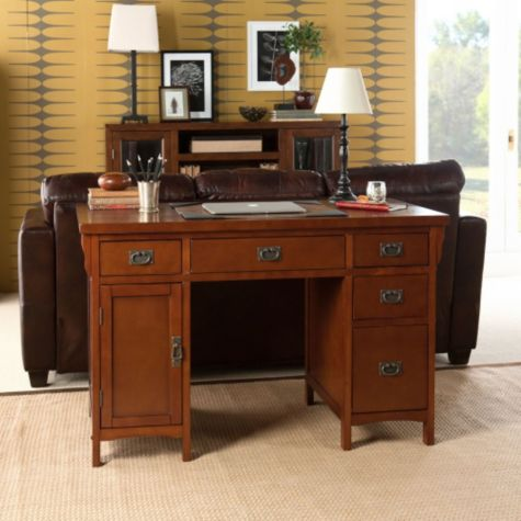 Brown Mahogany Shown in a Room Setting