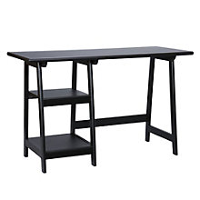 "Langston Two Shelf Compact Desk - 47""W, 8802758"