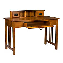 "Francisco Three Drawer Desk and Hutch Set - 45""W, 8802760"