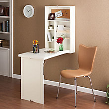 "Keene Fold Out Wall Mount Convertible Desk - 22""W, 8802761"