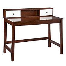 "Asher Writing Desk and Hutch - 42.5""W, 8802765"