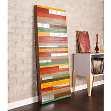 "Swice Striped Wall Art - 23.75""W x 55""H, 8802735"