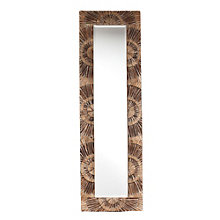"Yori Textured Full Length Mirror - 65""H x 20""W, 8802713"