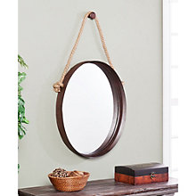 "Melissa Rope Accent Decorative Mirror - 38.5""H x 20.5""W, 8802717"