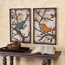 "Redfield Decorative Bird Wall Panel - 16""W x 24""H each, 8802782"