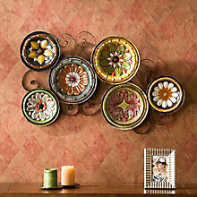 """Sherman Scattered Plates Wall Art x 22.5""""W x 36.75""""H, 8802784"""
