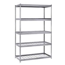 "Boltless Five Shelf Steel Shelving 72"" H, 8820437"