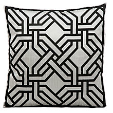 "kathy ireland by Nourison Chain Pattern Accent Pillow - 18""W x 18""H, 8803812"