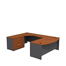 "Series C U-Desk with Lateral File - 72""W - Right or Left Return, 8827112"