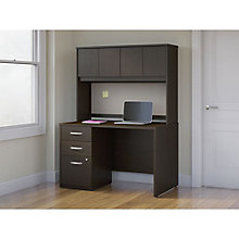 "Series C Elite Computer Desk with Hutch and Tack Board - 48""W x 30""D, 8808107"