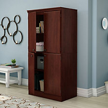 "Morgan 62""H Office Storage Cabinet, SSF-10989"