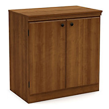 "Morgan 32""H Two Door Storage Cabinet, SSF-10993"