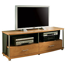 Honeydew/Charcoal Widescreen TV Stand, SSF-4257-662