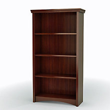 Gascony Cherry Four Shelf Bookcase, SSF-7356767