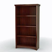 Gascony Cherry Four Shelf Bookcase, SSF-7356767