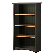 Black and Spice Four Shelf Bookcase, SSF-7378-767