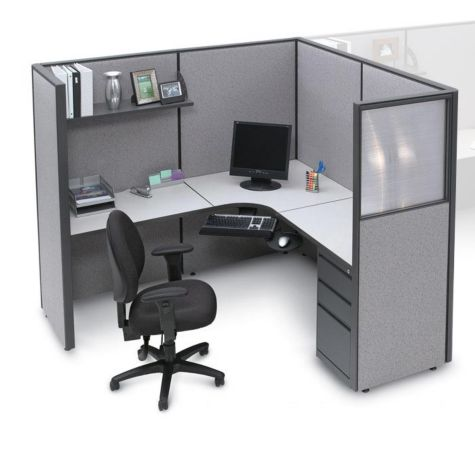 Harmony Complete Cubicle W L Workstation Officefurniture Com