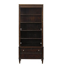 "Avalon Heights Five Shelf Bookcase with Drawer - 82.25""H, 8804772"