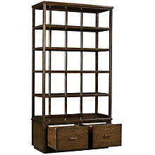 "Santa Clara Five Shelf Bookcase with Drawers - 80""H, 8804810"