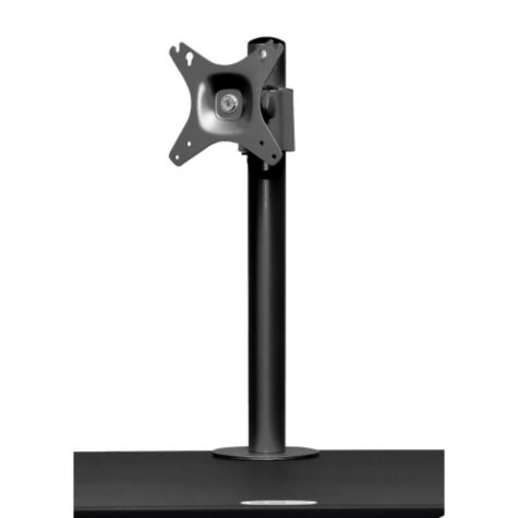 Close up of monitor mount