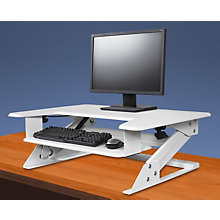 Clayton Desktop Height Adjustable Station, 8807967