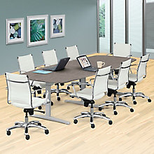 Plus T-Leg Conference Table - 10'W, 8828249