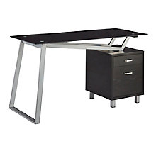Home Office V-Leg Desk With Right Pedestal, 8828611