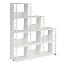 "Home Office Nine Compartment Bookcase - 50""W x 57.5""H, 8828614"