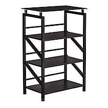 "Home Office Four Shelf Bookcase - 23.5""W x 38""H, 8828617"