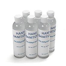 Six pack of 8oz Hand Sanitizer Gel, 8828818
