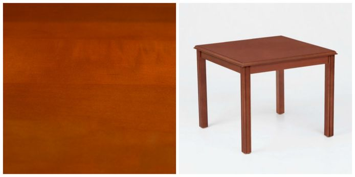 topped with a thin sheet of real wood  whereas laminate is not  Below  is an example of one our solid wood tables  the Franklin Corner Table by  Lesro. Real Wood vs Veneer vs Laminate Furniture   OfficeFurniture com